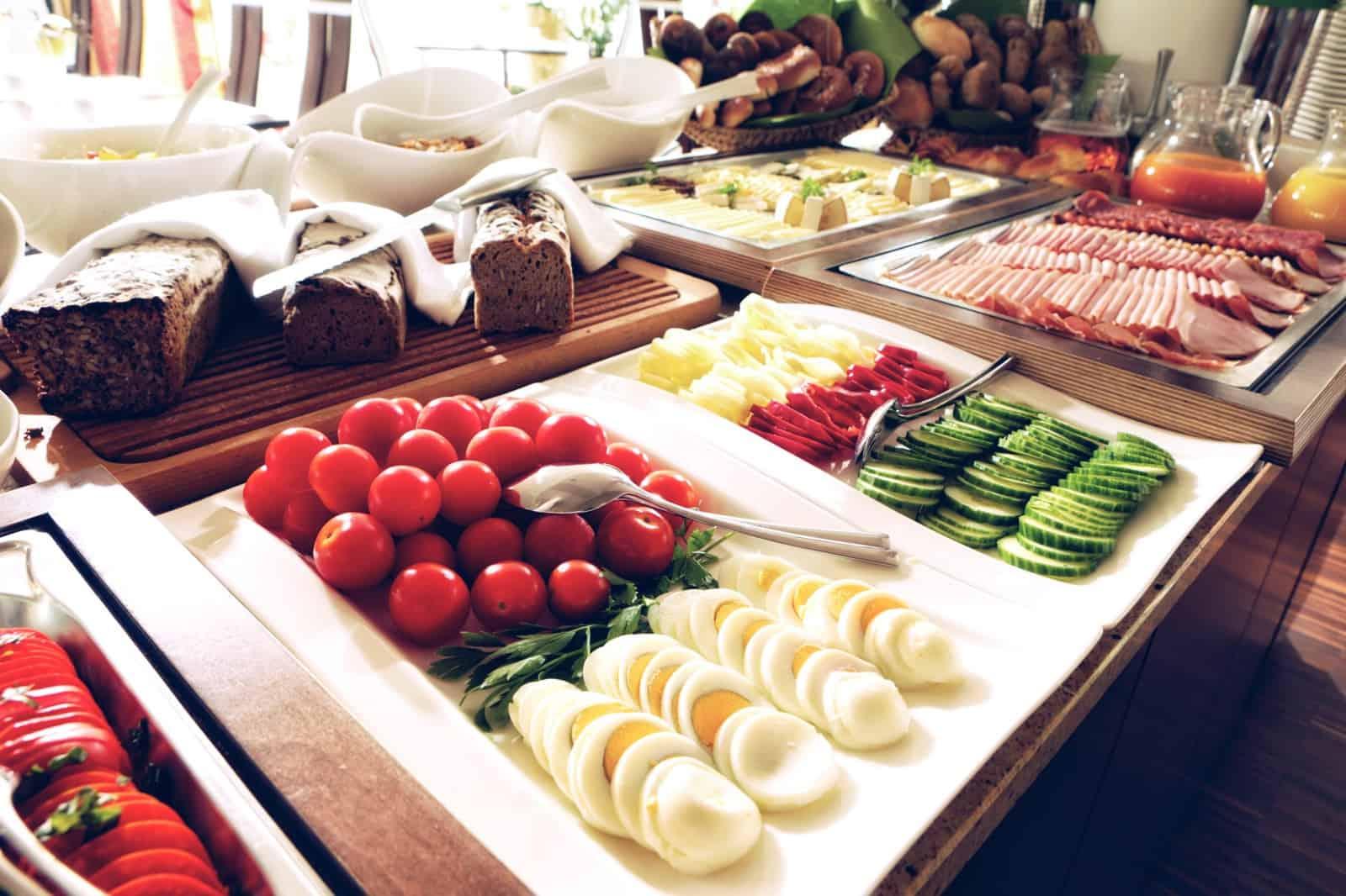Frühstück im Hotel Toscanina