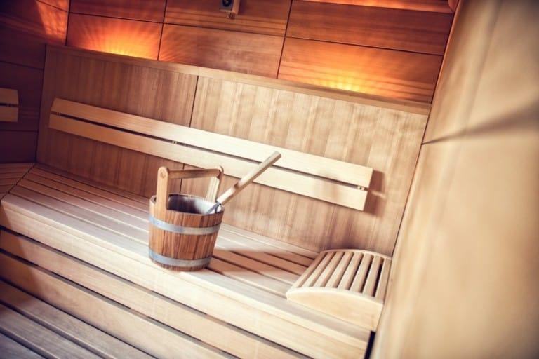 Sauna im Hotel Toscanina